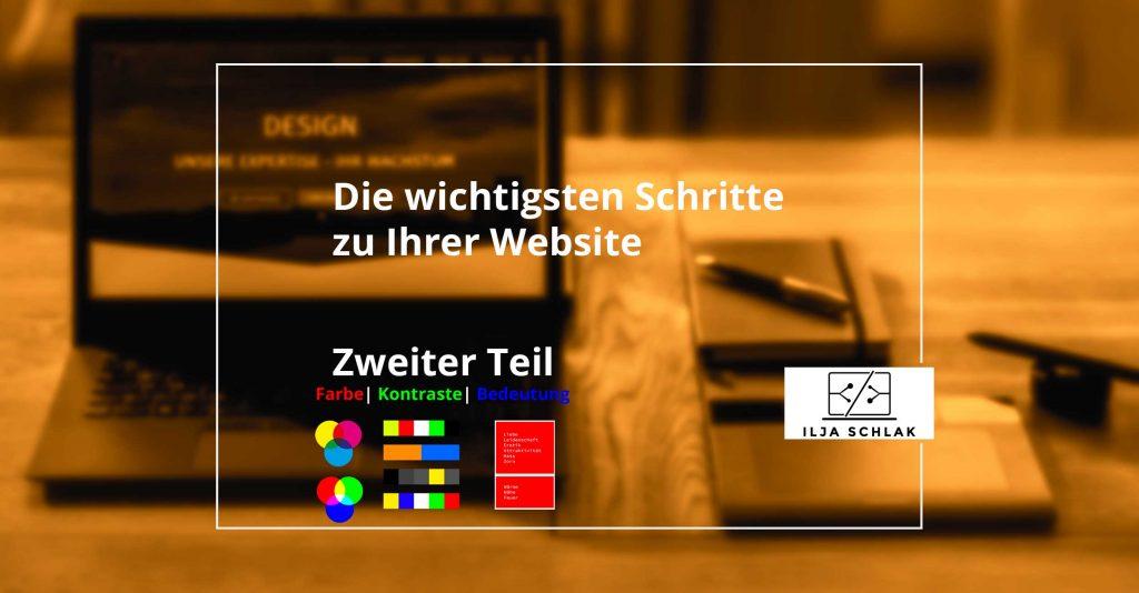 Webdesign Farbe