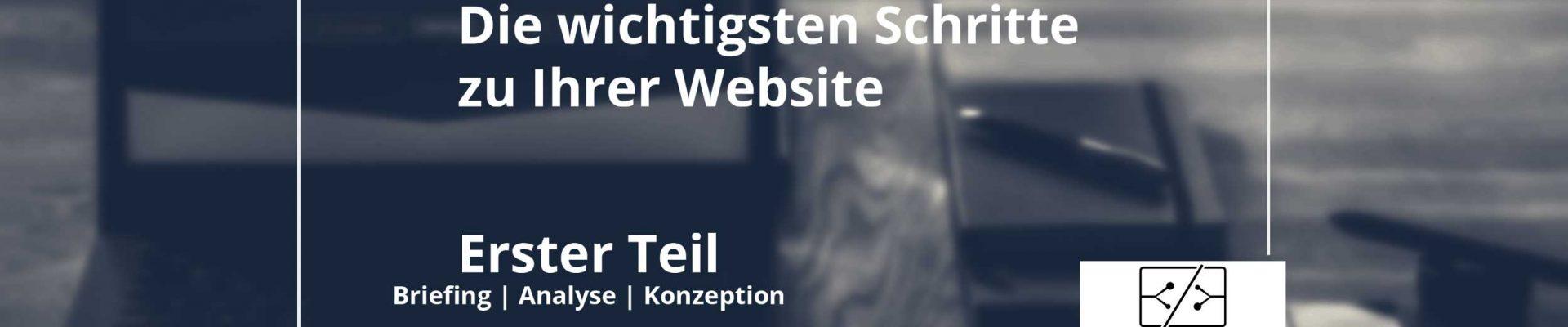 Webdesign Die wichtigsten Schritte zu Ihrer Website Konzeption Ilja Schlak