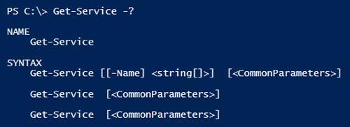 Powershell Syntax