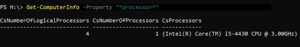 Powershell Cmdlets - Parameter
